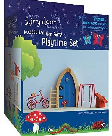 Irish Fairy Door Company Playtime or Garden Accessory Set
