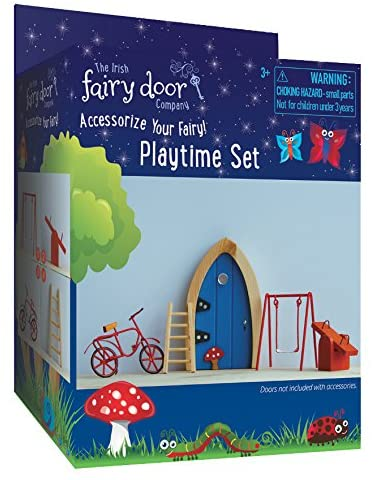 Irish Fairy Door Company Playtime or Garden Accessory Set